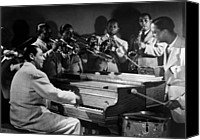 Csx Canvas Prints - Duke Ellington And His Famous Orchestra Canvas Print by Everett