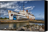 Swan Canvas Prints - Duke of Lancaster  Canvas Print by Adrian Evans