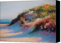 Pastel Landscape Canvas Prints - Dune Canvas Print by Ariel Freeman