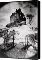 Haunted House Canvas Prints - Duntroon Castle Canvas Print by Simon Marsden