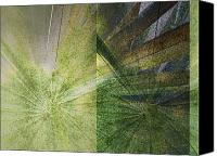Plants Mixed Media Canvas Prints - Duple Canvas Print by Kaypee Soh - Printscapes