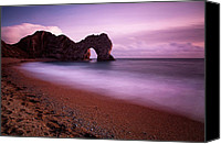 Door Canvas Prints - Durdle Door II Canvas Print by Nina Papiorek