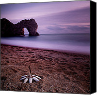 Door Canvas Prints - Durdle Door Canvas Print by Nina Papiorek