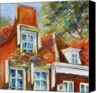 House Painting Canvas Prints - Dutch Gables Canvas Print by Chris Brandley