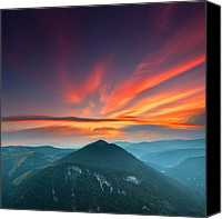Peak Canvas Prints - Eagle Eye Canvas Print by Evgeni Dinev