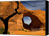 Sand Canvas Prints - Ear Of The Wind Canvas Print by Susan Candelario