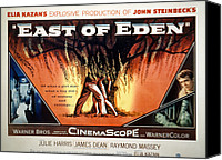 Films By Elia Kazan Canvas Prints - East Of Eden, James Dean, Lois Smith Canvas Print by Everett