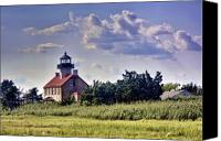 Kevin Sherf Canvas Prints - East Point Light House Canvas Print by Kevin  Sherf