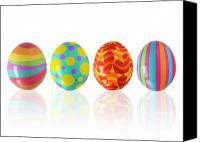 Star Canvas Prints - Easter Eggs Canvas Print by Carlos Caetano