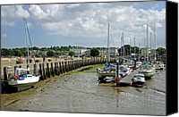 Seaside Canvas Prints - Eastern Side Harbour Arm - Ryde Canvas Print by Rod Johnson