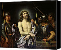 Ecce Canvas Prints - Ecce Homo  Canvas Print by Pierre Mignard