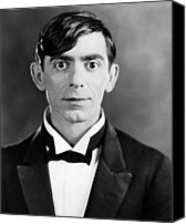 Black Tie Photo Canvas Prints - Eddie Cantor, 1927 Canvas Print by Everett