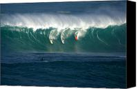 Surfers Canvas Prints - Eddie Would Go Canvas Print by Kevin Smith