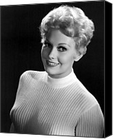 1956 Movies Canvas Prints - Eddy Duchin Story, Kim Novak, 1956 Canvas Print by Everett