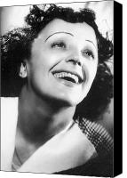 Edith Piaf Canvas Prints - Edith Piaf Canvas Print by Granger