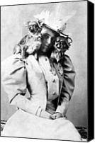 1890s Portrait Canvas Prints - Edith Wharton, 1862-1937, American Canvas Print by Everett