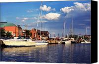 Ego Canvas Prints - Ego Alley Annapolis Canvas Print by Thomas R Fletcher