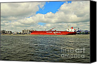Industrial Ship Canvas Prints - Eitzen Chemical Canvas Print by Dean Harte