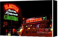 Photographers Atlanta Canvas Prints - El Azteca Restaurant Canvas Print by Corky Willis Atlanta Photography