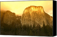 California Canvas Prints - El Capitan Yosemite Valley Canvas Print by Garry Gay
