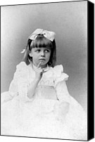 First Lady Canvas Prints - Eleanor Roosevelts At The Age Of Five Canvas Print by Everett