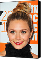 Alice Tully Hall At Lincoln Center Canvas Prints - Elizabeth Olsen At Arrivals For Martha Canvas Print by Everett
