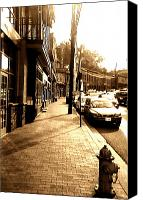 Ellicott Canvas Prints - Ellicott City Street Canvas Print by Utopia Concepts