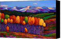 Autumn Canvas Prints - Elysian Canvas Print by Johnathan Harris