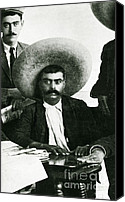 Emiliano Canvas Prints - Emiliano Zapata Canvas Print by Science Source