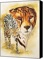 Wildcats Canvas Prints - Eminence Canvas Print by Barbara Keith