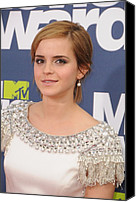Mtv Canvas Prints - Emma Watson At Arrivals For The 20th Canvas Print by Everett