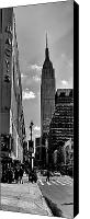 Empire Photo Canvas Prints - Empire State Canvas Print by Peter Aitchison