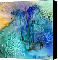 Forest Canvas Prints - Enchantment Canvas Print by Anne Duke