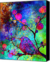 Tree Blossoms Canvas Prints - Enchantment Canvas Print by Robin Mead