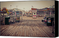 Boardwalks Photo Canvas Prints - End of Summer Canvas Print by Heather Applegate