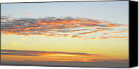Mariola Szeliga Canvas Prints - End of the Day Canvas Print by Mariola Szeliga