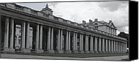 Naval College Canvas Prints - Endless Columns Canvas Print by Anna Villarreal Garbis