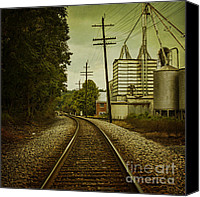 Andrew Digital Art Canvas Prints - Endless Journey Canvas Print by Andrew Paranavitana