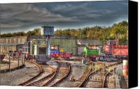 Sheds Canvas Prints - Engine Sheds Quainton Road Buckinghamshire Railway Canvas Print by Chris Thaxter