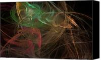 Plasma Photo Canvas Prints - Entropy Two Canvas Print by Andy Astbury