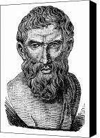 4th Canvas Prints - Epicurus (343?-270 B.c.) Canvas Print by Granger
