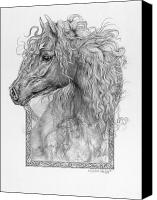 Fantasy Creatures Canvas Prints - Equus Caballus - Horse - The Divine Gift Canvas Print by Steven Paul Carlson