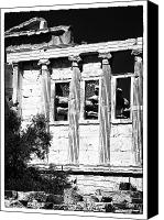 Acropolis Canvas Prints - Erechtheum Columns Canvas Print by John Rizzuto