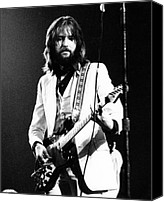 Clapton Canvas Prints - Eric Clapton 1973 Canvas Print by Chris Walter