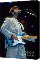 Clapton Canvas Prints - Eric Clapton  Canvas Print by Rich Fuscia