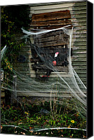 Haunted House Canvas Prints - Escaping the Web Canvas Print by LeeAnn McLaneGoetz McLaneGoetzStudioLLCcom