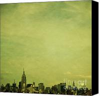 New York Skyline Canvas Prints - Escaping Urbania Canvas Print by Andrew Paranavitana