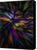 Photo-manipulation Canvas Prints - Essence Canvas Print by Lauren Radke