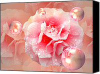 Camelia Canvas Prints - Essence Of Sophie Canvas Print by Joyce Dickens