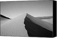 Death Valley National Park Canvas Prints - Eureka Dunes, Death Valley National Park Canvas Print by Gary Koutsoubis